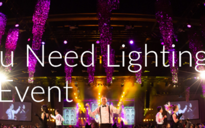 Why you Need Lighting for Your Event